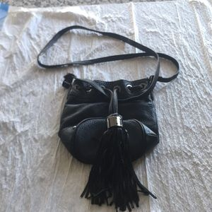 Kenneth Cold Leather Cross Body Bag